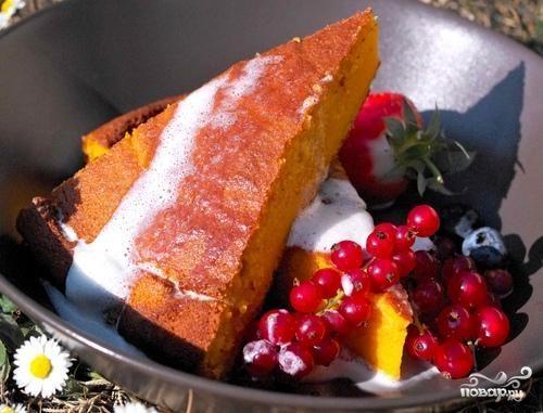 Морковный сладкий пирог