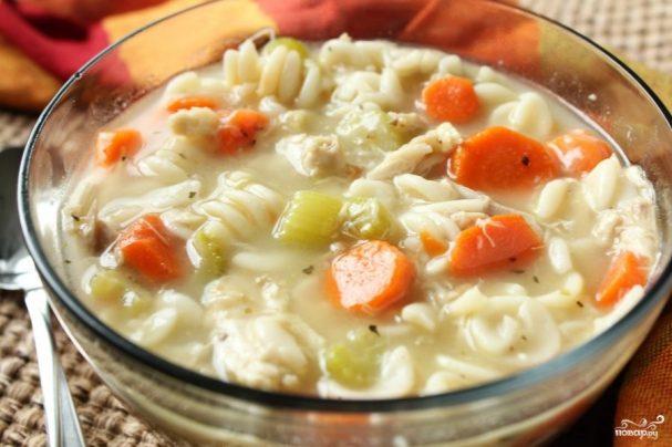 Куриный суп с пастернаком
