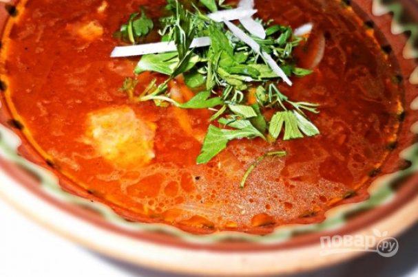 Солянка по-грузински классическая (по рецепту бабушки)