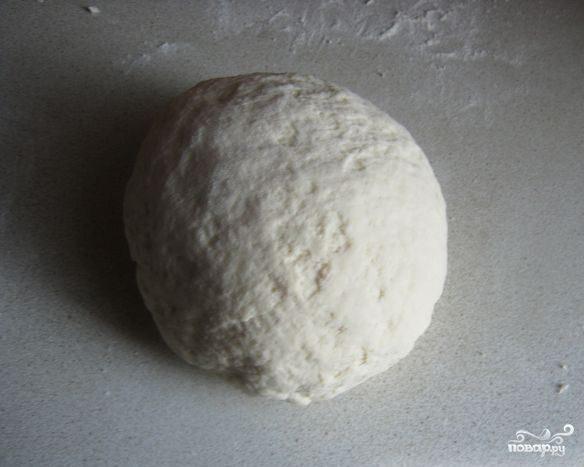 Тесто на воде без дрожжей