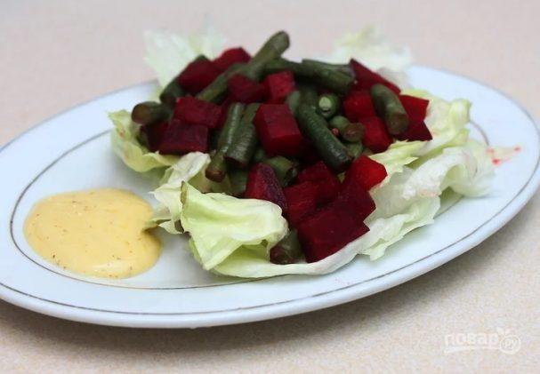 Салат из свеклы без майонеза