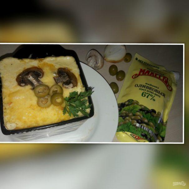 """Лучший рецепт """"А-ля жульена"""" с лососем и майонезом """"Махеевъ"""""""