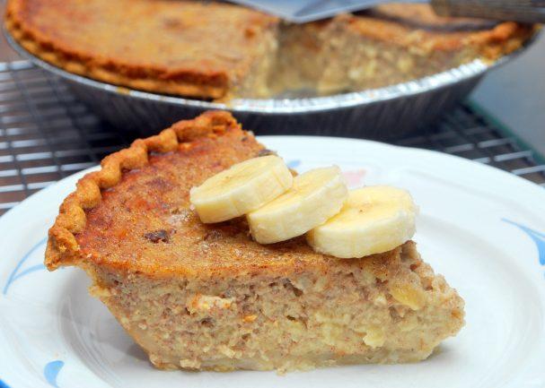 Бисквит с бананом