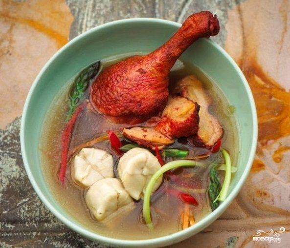 Суп из индоутки