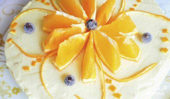 """Торт """"Апельсиновый рай"""""""