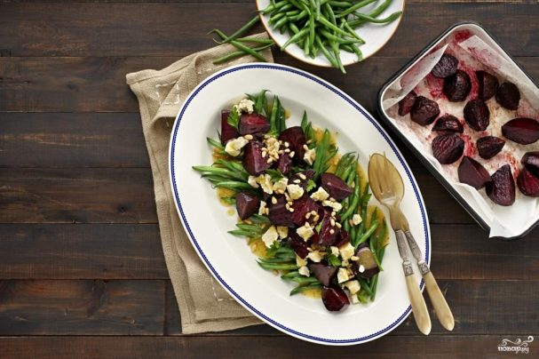 Новогодний салат из свеклы