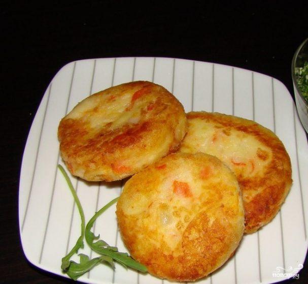 картофельные котлеты рецепт и калорийность