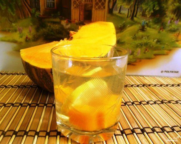 Компот из черники с апельсином на зиму