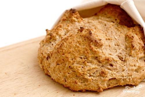 Хлеб из пресного теста