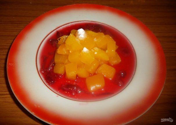 Диетический десерт из тыквы
