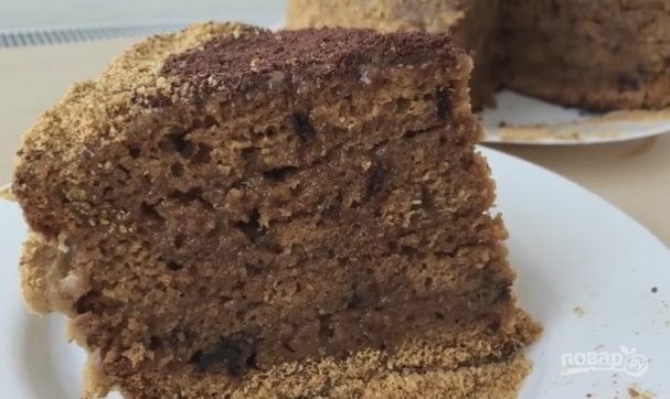 Очень простой кофейный торт