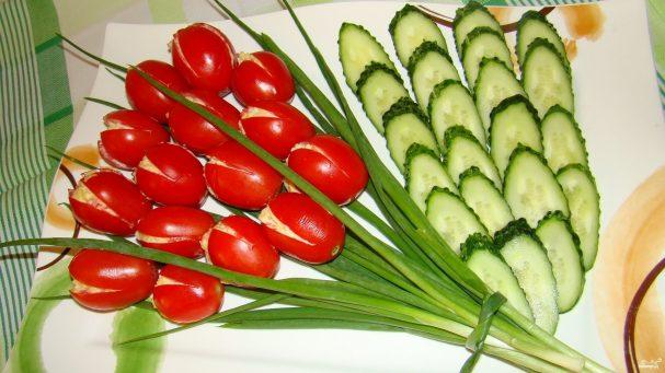 Салат к 8 марта