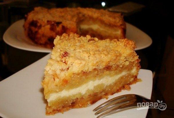 Пирог тертый