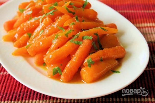 Морковь в апельсиновом соке