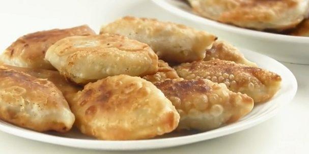Быстрые маленькие пирожки с картошкой
