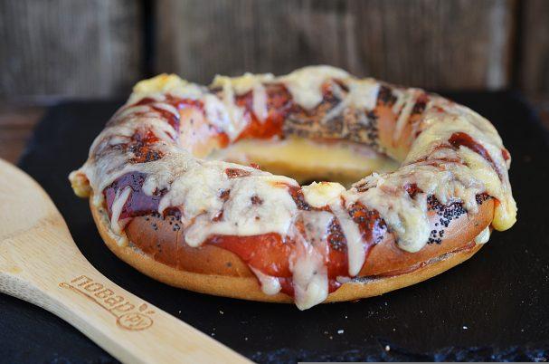 Бейглы в стиле пиццы