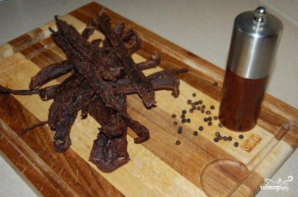 Вяленое мясо в духовке