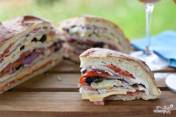 Быстрые бутерброды на природу