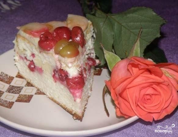 Бисквитный торт на скорую руку рецепт