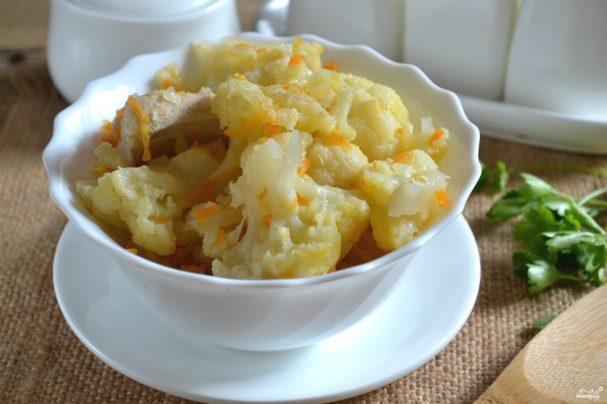 рецепты супов с куриной грудки с цветной капустой