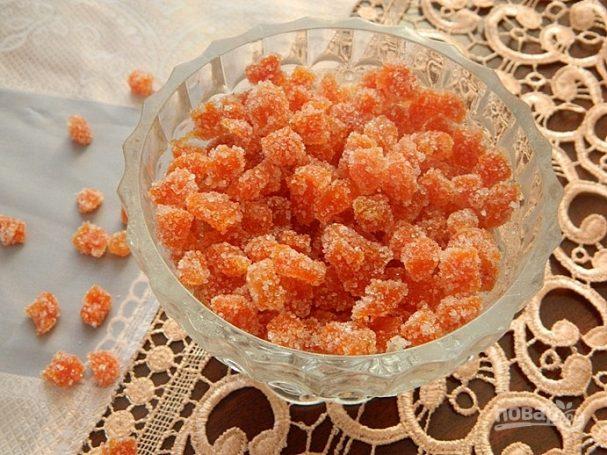 Морковные цукаты