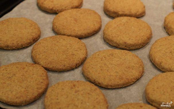 Овсяное печенье на растительном масле