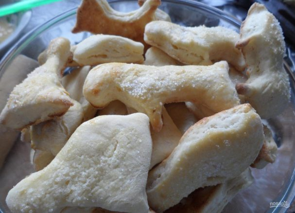 Печенье детское на кефире