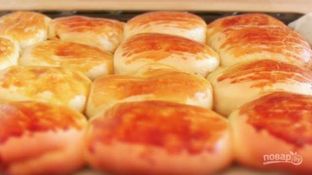 Пирожки с яблоками и тыквой в духовке