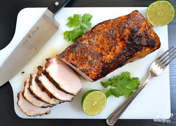 Карбонат из свинины в духовке