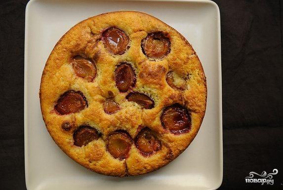 Пирог из сливы
