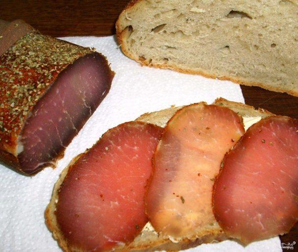 Вяленая свинина со специями