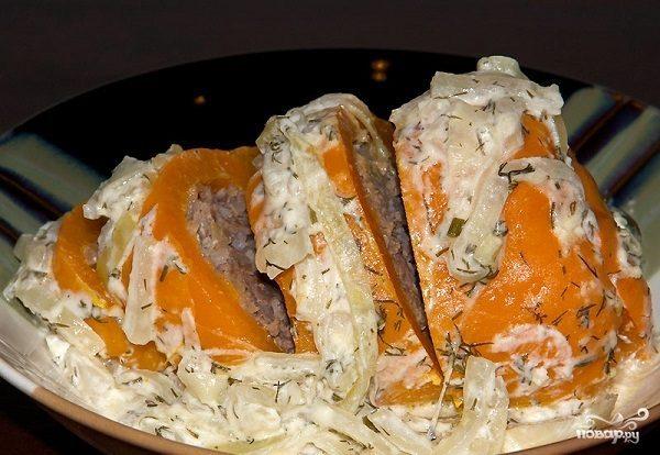 Фаршированные перцы классический рецепт
