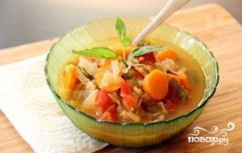 Суп для похудения из капусты