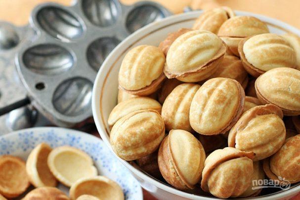 """Печенье """"Орешки"""" со сгущенкой (старый и вкусный рецепт)"""