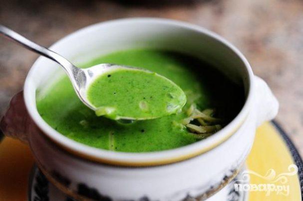 Суп из шпината пошаговый рецепт