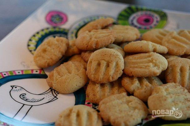 Песочное печенье с майонезом