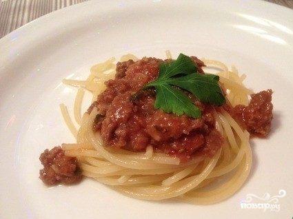 Мясной соус к спагетти
