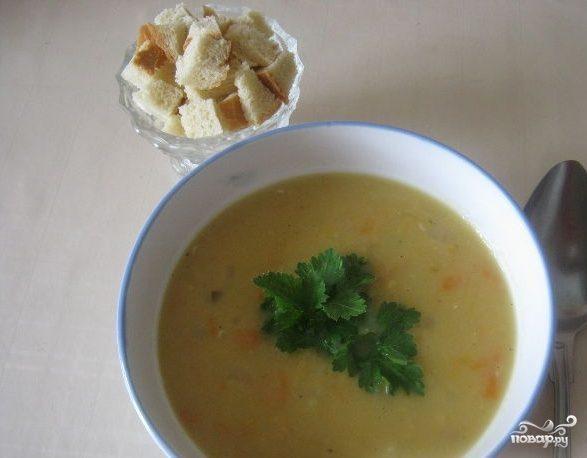 Гороховый суп с ребрами