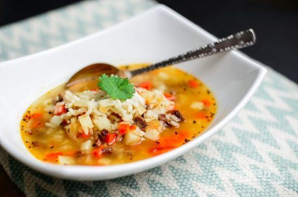 Рецепт супа с рисом и мясом