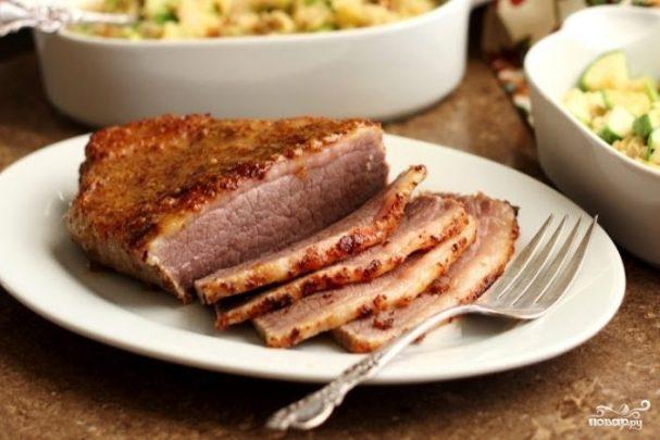 Мясо печеное в мультиварке