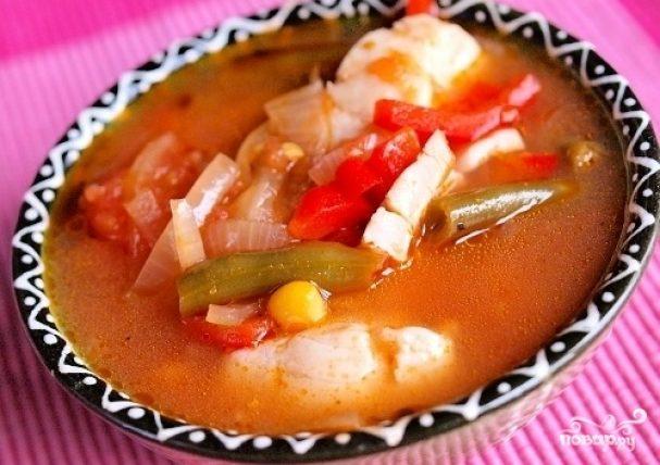 Рыбный суп из тилапии