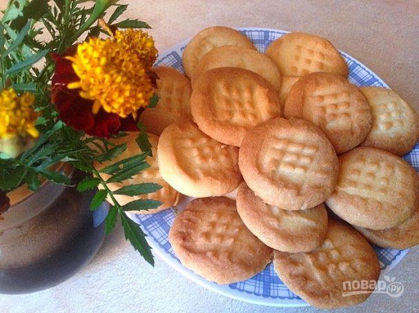 Легкий рецепт печенья