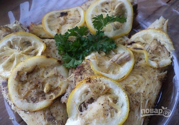 рецепт камбалы запеченной в фольге и в духовке