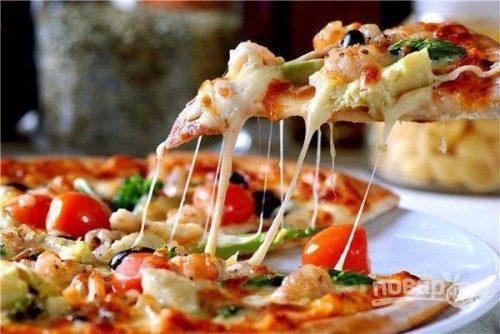 Тесто для пиццы тонкое итальянское