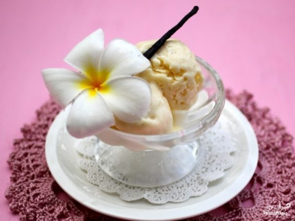 Мороженое без сливок