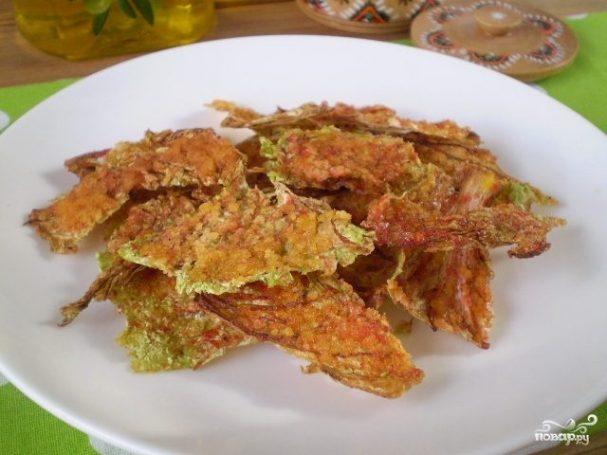 Сыроедческие чипсы