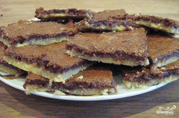 Легкие шоколадные пирожные