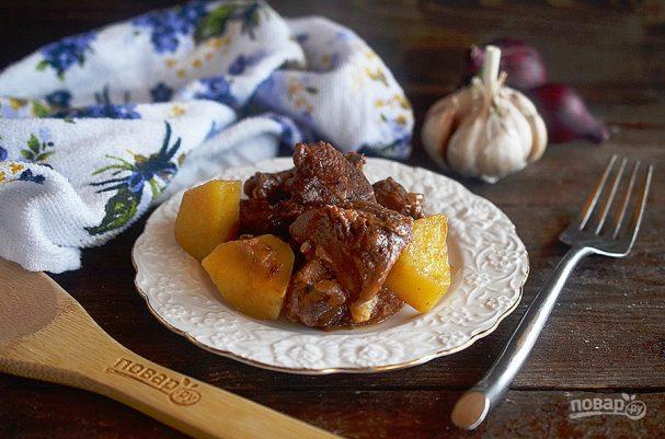 Молья де карне (португальское мясное рагу)