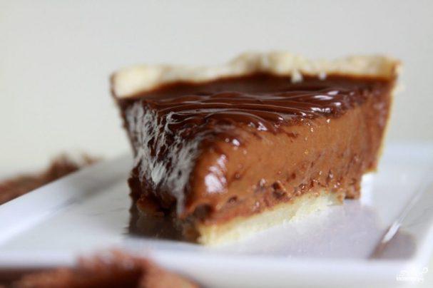 Тройной шоколадный пирог с тыквой