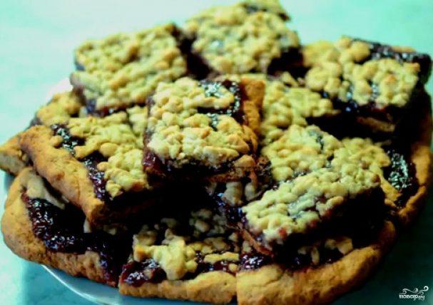 Вишневое печенье